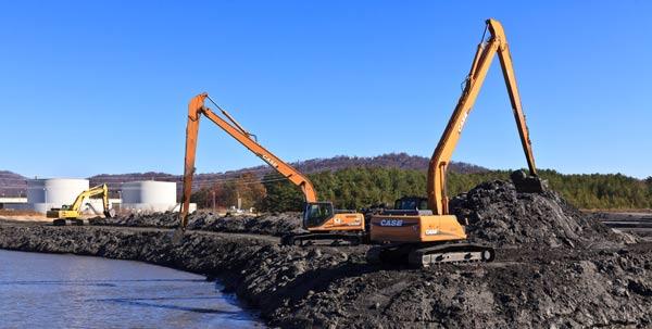 Ash pond management closure charah for Design of ash pond
