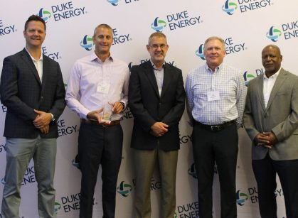 Left to Right_Ken Thompson, Duke Energy_David Mann, Charah Solutions_Jeff Swartz, Duke Energy_Rob Reynolds, Charah Solutions_Tony Flavors, Duke Energy